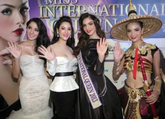 The Miss International Queen 2014 beauty pageant will take place at Tiffany Show Lounge in Pattaya on Friday, November 7.