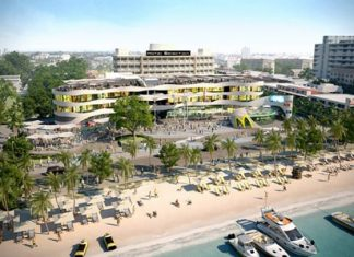 The Bay retail project will offer a new beachfront shopping and entertainment option for Pattaya tourists and residents.
