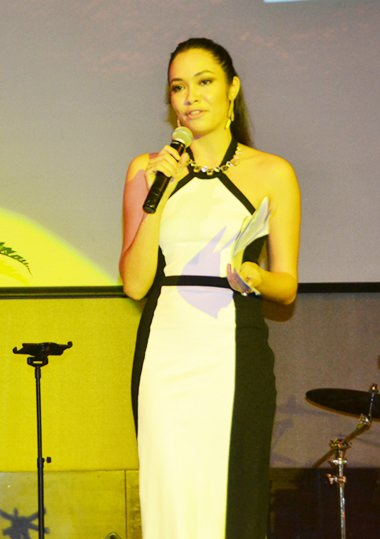 Sarah Ball was the MC for the night, and performed the task with grace and elegance befitting the event.