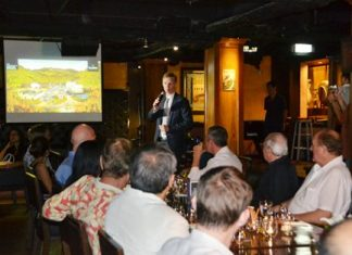 The highly informative presentations gave the guests a real insight into the processes involved in creating a Glenfiddich Single Malt and of the distillery itself.