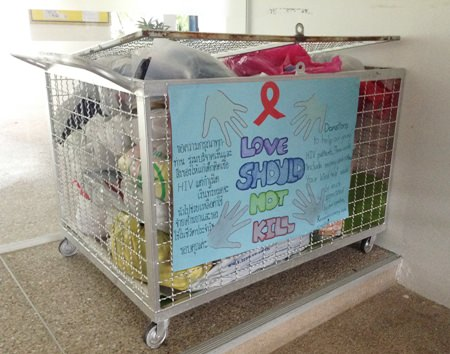 SAGV organized a collection for the children at Camillian.