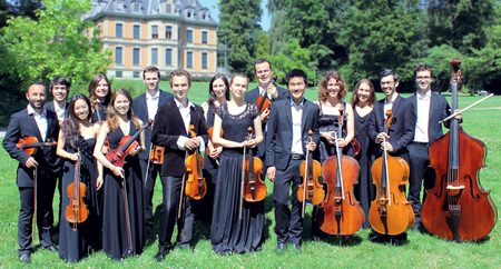 ZHdK Strings chamber ensemble.