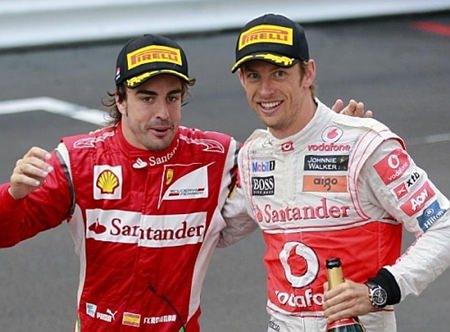 Alonso and Button