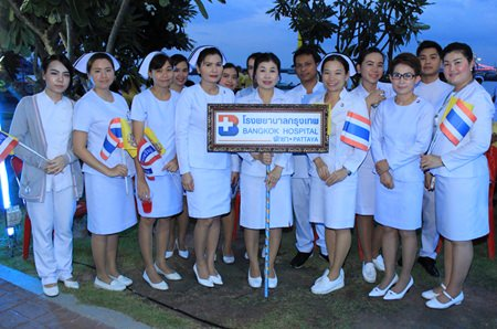 Bangkok Pattaya Hospital is well-represented at the ceremony.