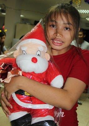 We love Santa.