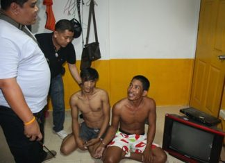 Cambodian fishermen Wat and Sritao both failed a drug test and were arrested.