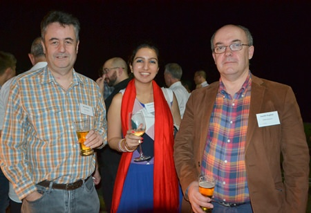 The RSM Advisory team: (L to R) Mark Butters, Bhavana K. and Gareth Hughes.