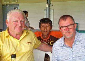Steve Ellison, Kenny Aihara and Rusty Barfield.