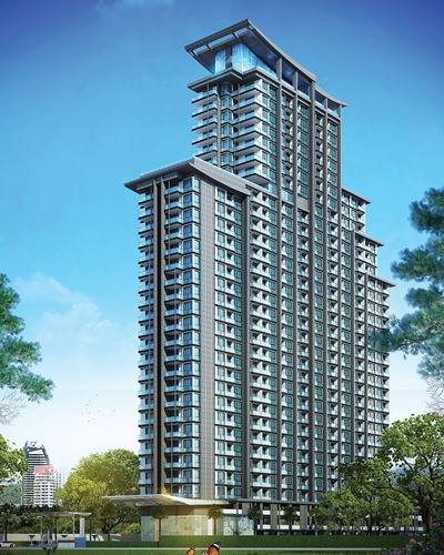 Pacific Bay will be a 33-storey development offering 481 residential units.