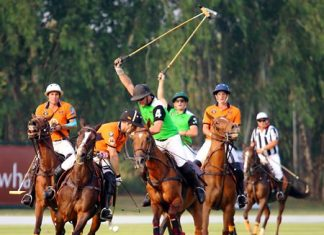 Enjoy a thrilling day at the charity Thai Polo Open on Saturday, Jan. 17 at the Thai Polo & Equestrian Club in Pattaya.