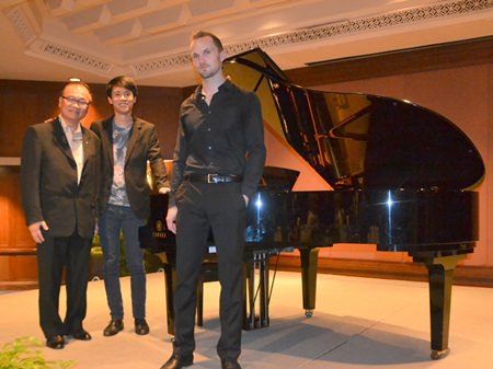 (L to R) Mongkol Chayasirisobhon, Benjamin Kim, Andreas Donat.