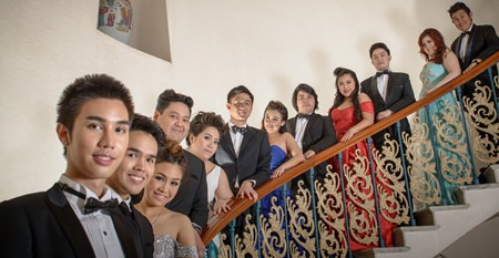 Talented singers of Grand Opera (Thailand) will perform at the Royal Cliff Grand Hotel on April 2.