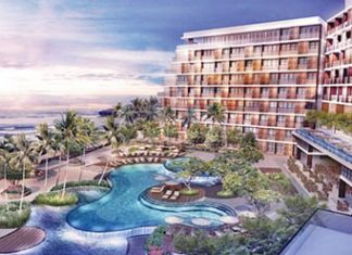 An artist's rendering shows the 172-room Amari Galle hotel, set for opening at the end of 2016.
