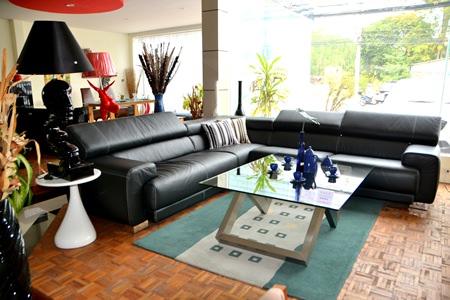 Tastefully modern living-room furniture designs at Decorum.