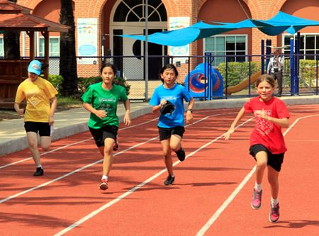 Regents International School offers a variety of different sporting activities on Saturdays.