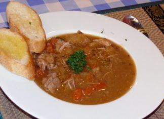 Hungarian goulash.