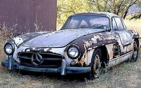 Mercedes 300 SL.