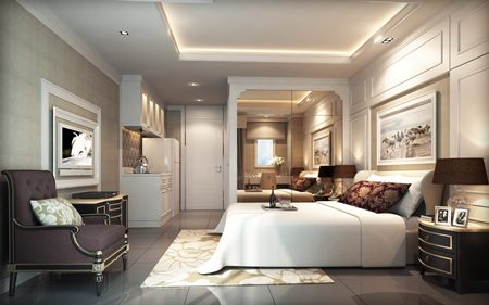 Units will be stylishly furnished to create a classic yet homely feel for residents.