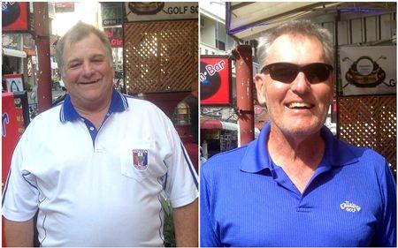 Steve Newton & Steve Truelove.