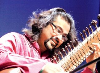 World class sitar player Purbayan Chatterjee.