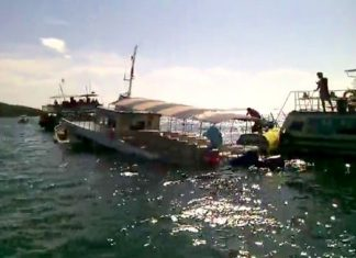 Eighty-two people were pulled from the Petchara 7 when the ferry sank on its way back to Pattaya on Sunday May 31.
