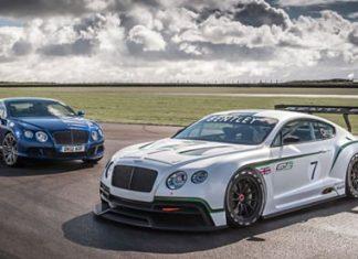 Bentley race car