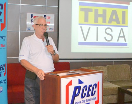 PCEC Member Richard Silverberg describes the many features provided to Thailand expats on the website www.thaivisa.com.