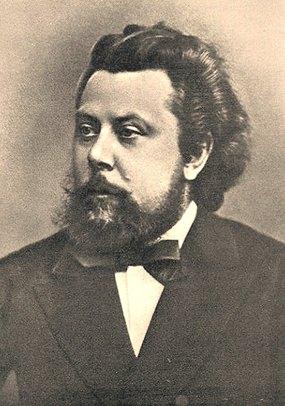 Modest Mussorgsky in1870.