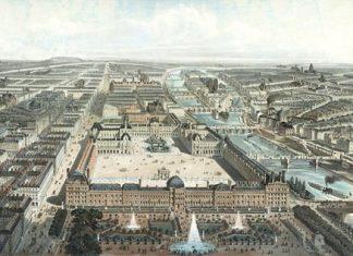 The Tuileries Palace, Paris c. 1778.