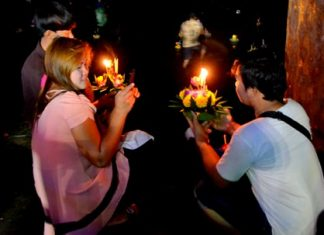 This year's Loy Krathong celebration takes place on Nov. 25.