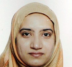Tashfeen Malik, the woman involved in this week's Southern California mass shooting, has another claim to notoriety: She's the latest in a growing line of extremists and disturbed killers who have used social media to punctuate their horrific violence. (FBI via AP)
