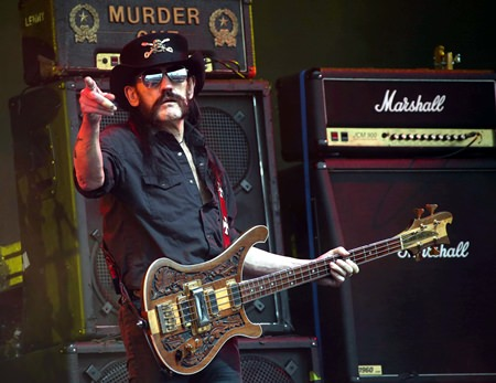 Motorhead frontman 'Lemmy' Kilmister is shown in this June 26, 2015 file photo. (Photo by Joel Ryan/Invision/AP)