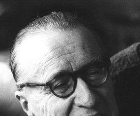 Composer Jean Françaix.
