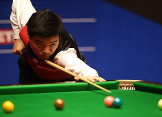 Ton-hitting Ding is 1st Asian player in world snooker final