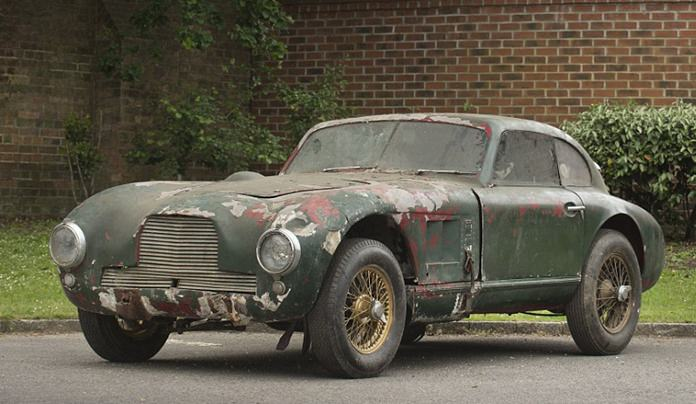 Aston Martin prototype.