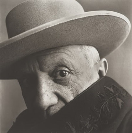 Picasso by Irving Penn.
