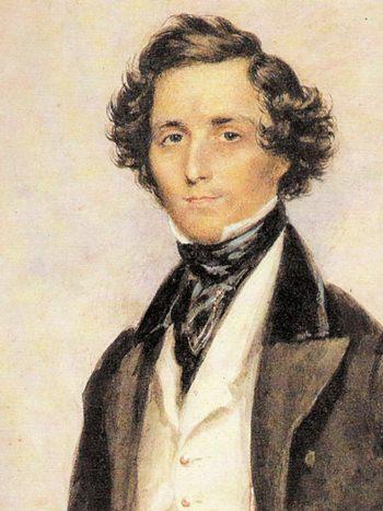 Mendelssohn at thirty (James Warren Childe, 1839).