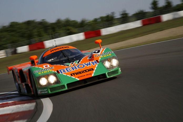 Le Mans Mazda 787 B.