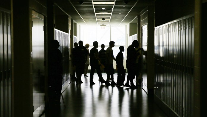 A new government survey finds a surprising drop in the proportion of high schools kids who are having sex. The survey found 41 percent said they had ever had sex, after it had been about 47 percent from a decade. (AP Photo/Matt Slocum)