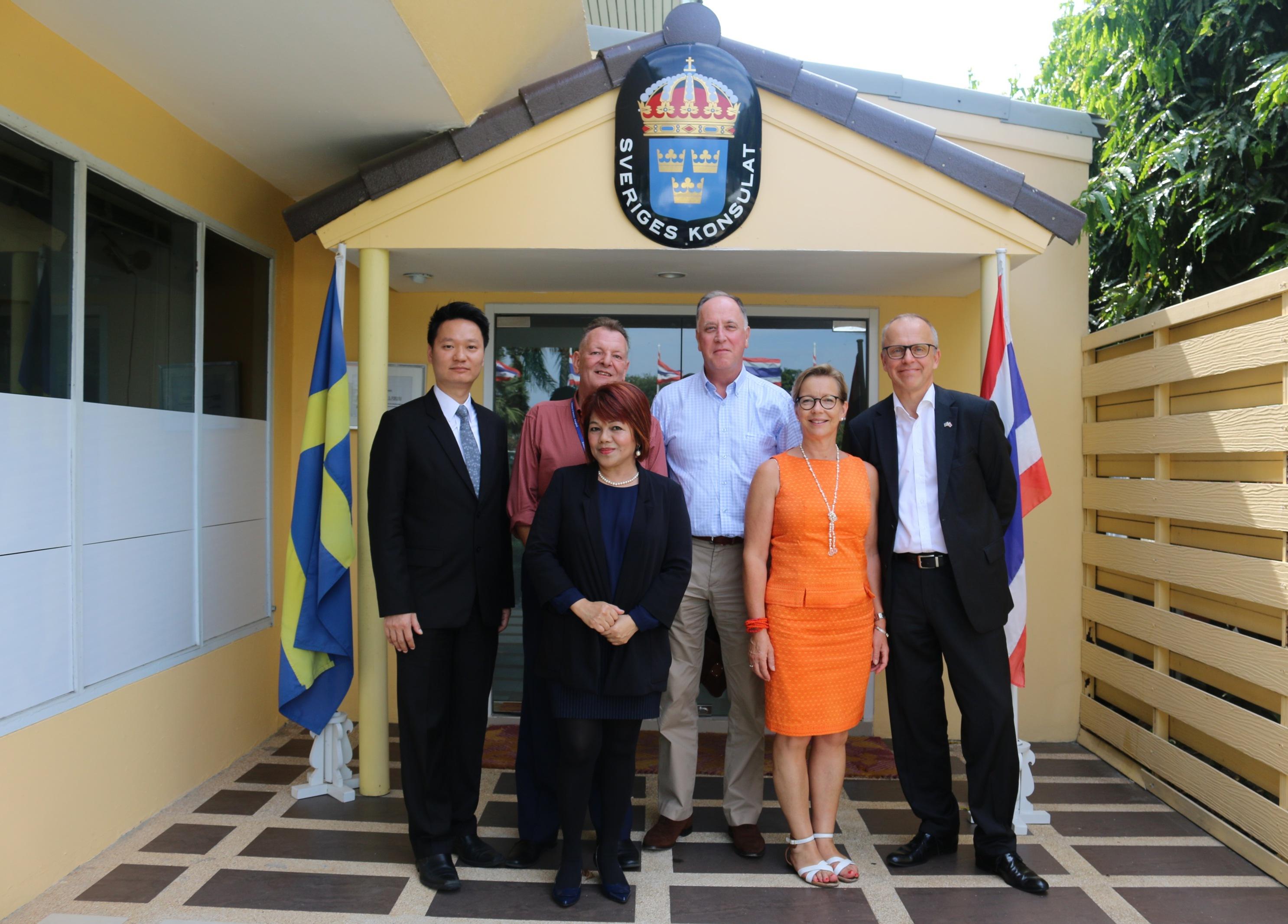 Dusit Thani welcomes Swedish Ambassador