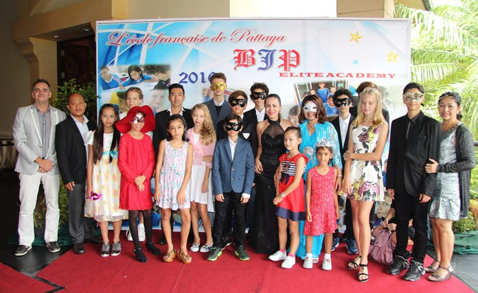 BJP Elite Academy held an end of the school year masquerade ball festivities at the Garden Cliff Resort.