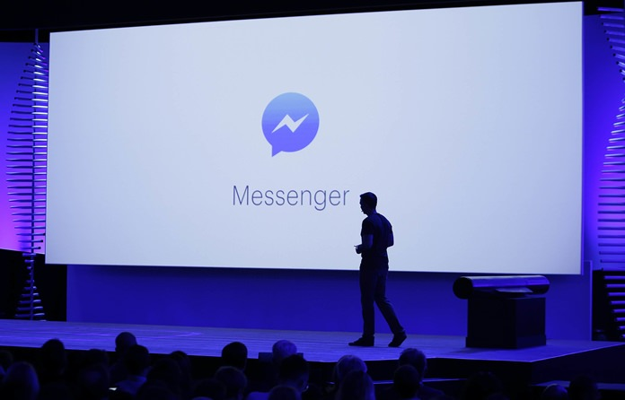 "On Friday, July 8, 2016, Facebook said it is testing an option for ""secret conversations,"" encrypted chats that can only be read by the people sending and receiving the messages, to its Messenger app. (AP Photo/Eric Risberg)"