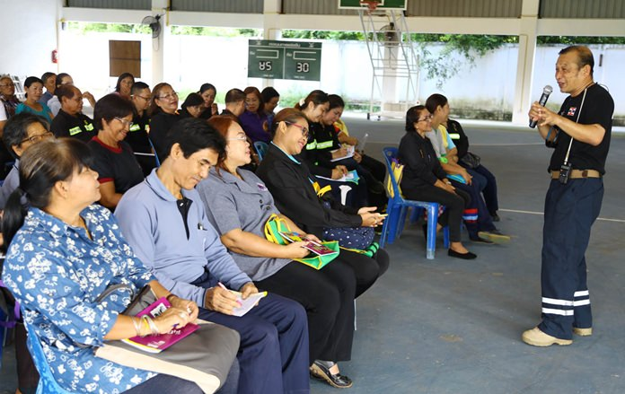 Khet Udomsak prepared for flooding and other natural disasters by training locals to respond in emergency situations.