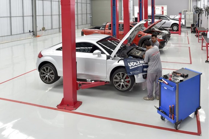 A team of three highly qualified mechanics are on hand to attend to all your automotive requirements.