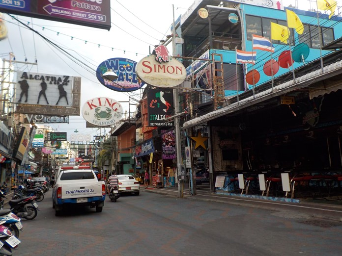 Walking Street was practically a ghost town during the elections.