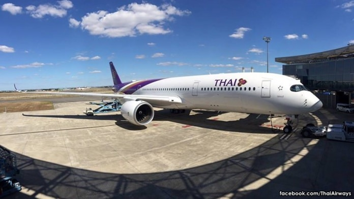 Thai Airways takes delivery of first A350 XWB