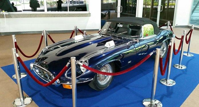 E-Type Jaguar 1970.