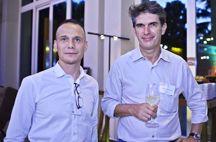 Peter Kagermeier, managing director at Konzept Worx and Philippe Claire, managing director at Ventury Co., Ltd.