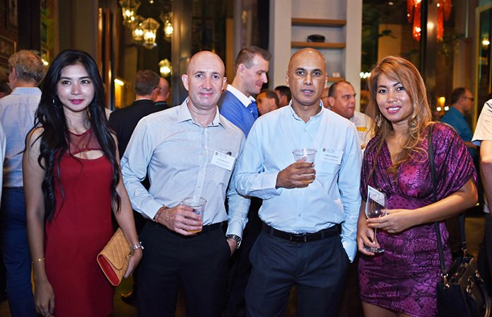 'Nok' Thasakamolwak, Clive Benwell, operations manager at Oryx Automation, Suren Moodley, managing director at Oryx Automation, and Nilnapha Chaichit, procurement specialist-logistics at CEA Project Logistics.