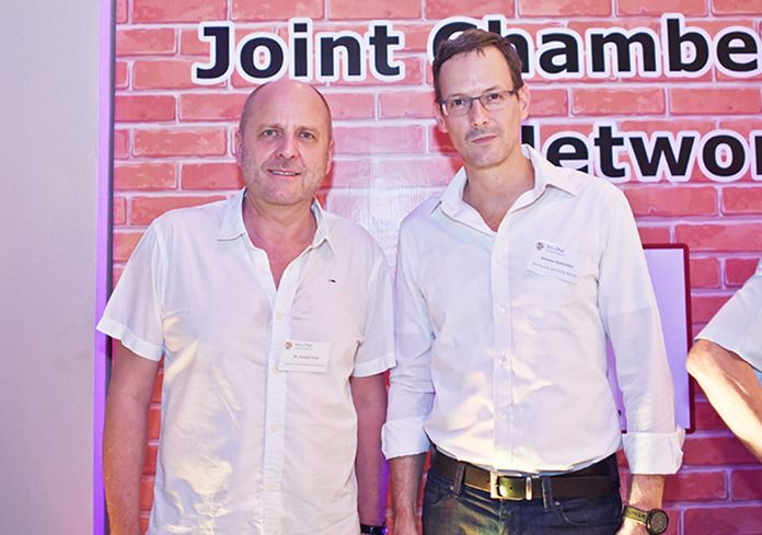 Dr. Roland Wein, executive director at GTCC, and Matthias Hoffrichter, business development director at Property Care Services Thailand.